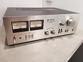 Technics su de 7300 estéreo amplificador - Vintage - Plata: Amazon.es: Electrónica