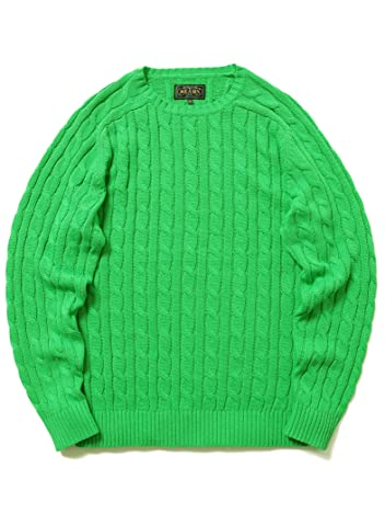 Cotton Cable Crewneck Sweater 11-15-1160-103
