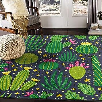 Alfombra plana flor floral ornament-patrón clásico//Modern gris para sala de estar