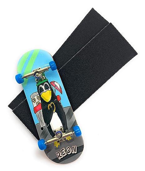 CNC Wheels 32mm Trucks Grip Tape 1 Complete 32mm Ebony Fingerboard Stickers