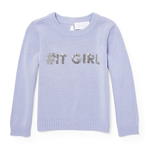 86f7bb6ea Amazon.com  The Children s Place Baby Girls  Sweater  Clothing