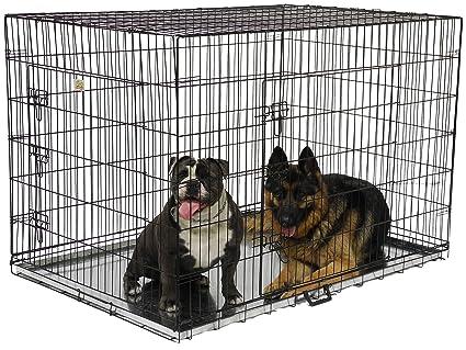Amazon.com : Go Pet Club Dog Wire Cage, 54-Inch : Pet Kennels : Pet ...