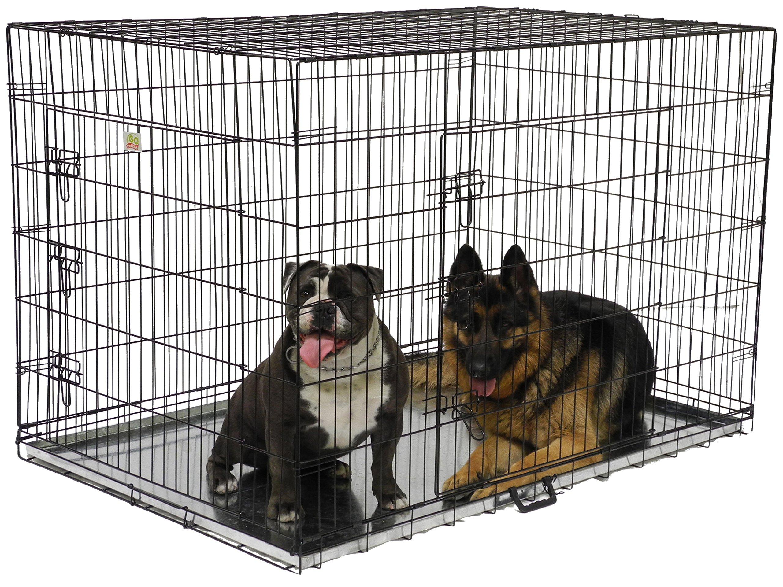 Go Pet Club Dog Wire Cage, 54-Inch