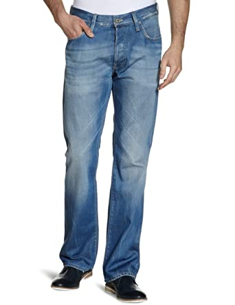 55248174690 Image Unavailable. Image not available for. Color: G-Star Raw Mens 3301  Loose Jean 28 W x 32 Medium Aged ...