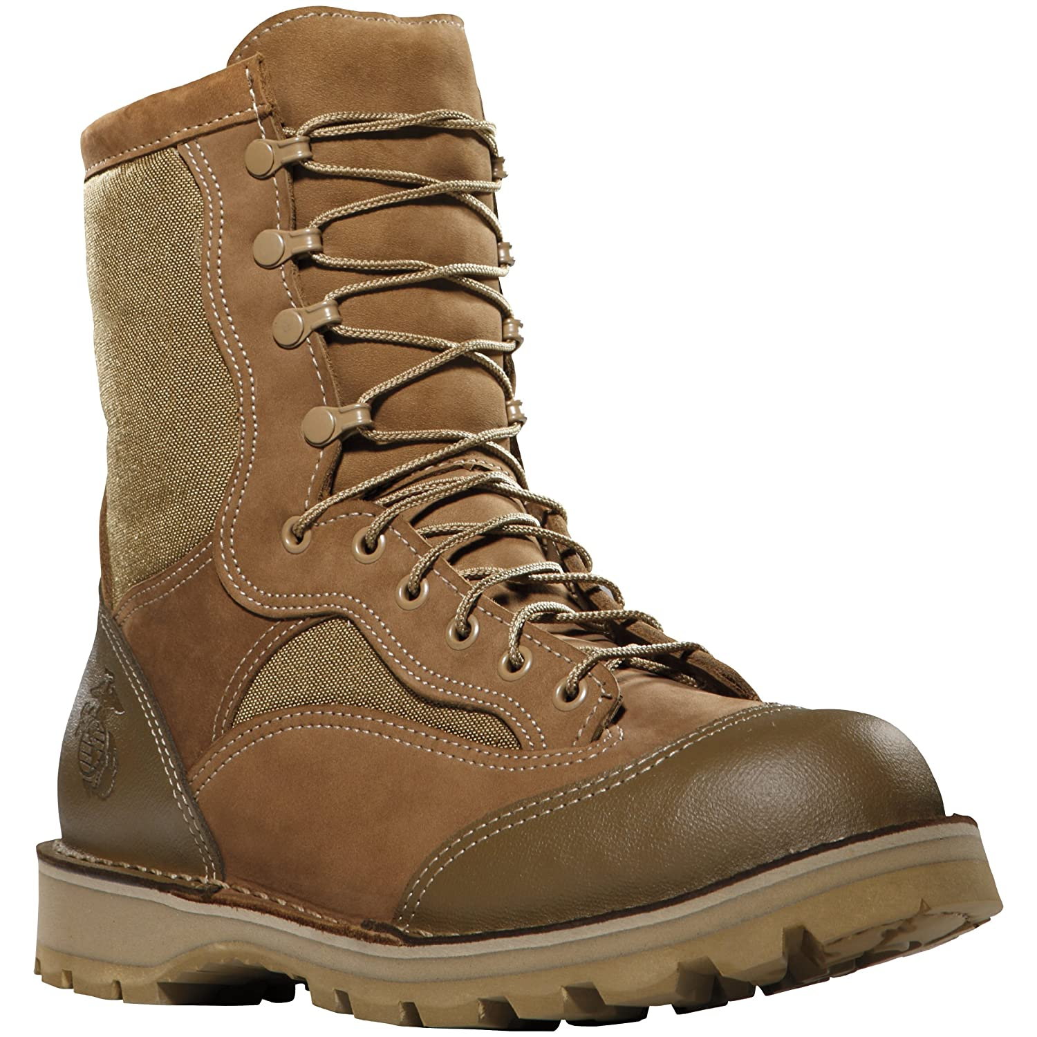 15610X Danner Men's USMC RAT Hot Safety Boots - Brown