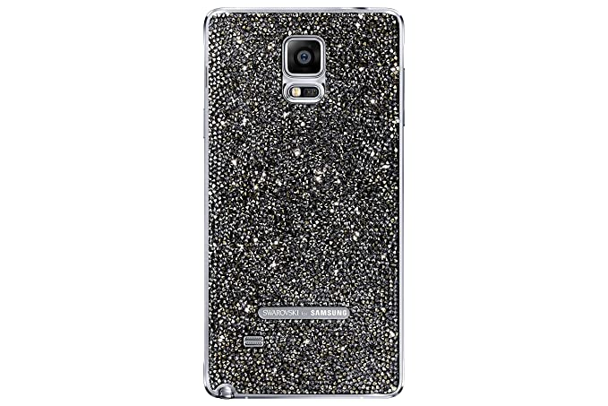 the latest 3fe9e 09ae4 Samsung Swarovski Battery Cover for Samsung Galaxy Note 4 - Retail  Packaging - Silver