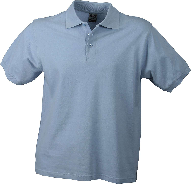 S - 3XL James /& Nicholson Klassisches Hochwertiges Polohemd