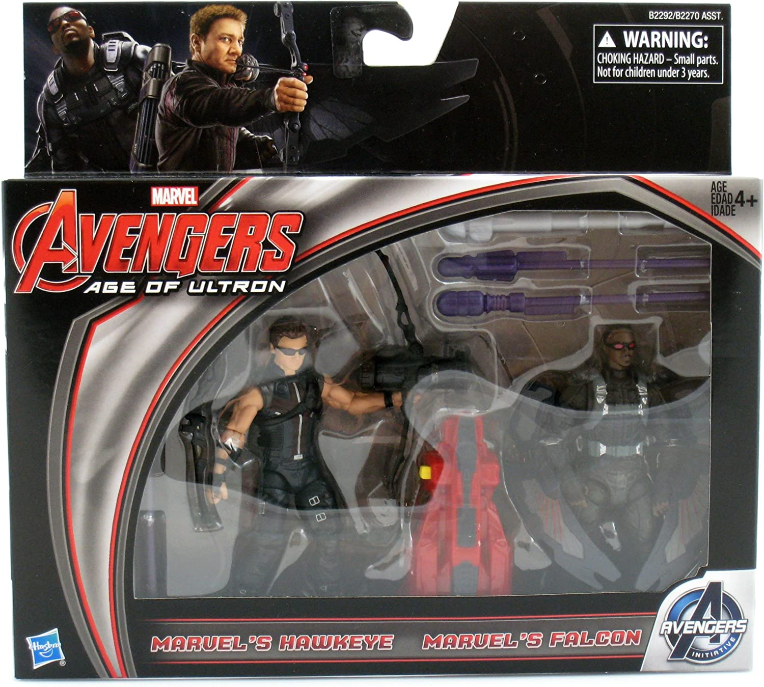 Marvel Avengers Age of Ultron-Hawkeye /& FALCON ACTION FIGURES!