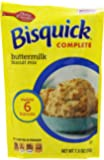 Betty Crocker Bisquick Complete Biscuit Mix, Buttermilk, 7.75 Oz Bag (Pack of 9)