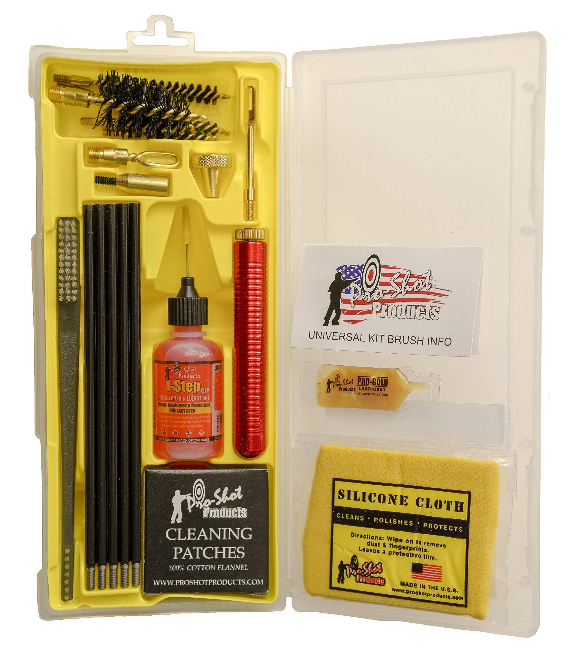 Pro Shot Black Coated Rod Universal Box Kit, Black