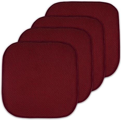 High Back Seat Outdoor Chair Pad Cushion Garden Patio Furniture Memory Foam Mat