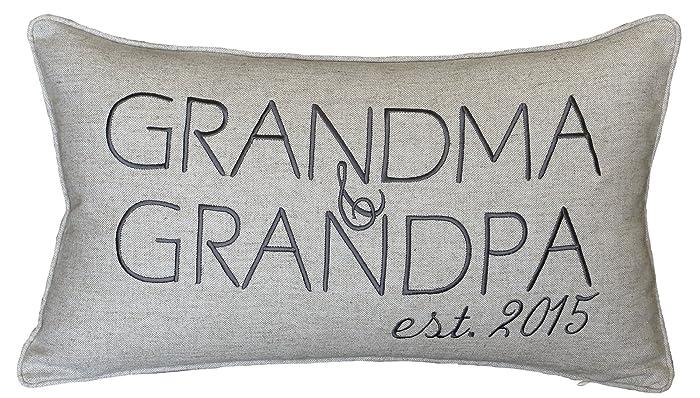 Amazon DecorHouzz Grandpa And Grandma Personalized Pillow Cover Stunning Customized Pillow Covers