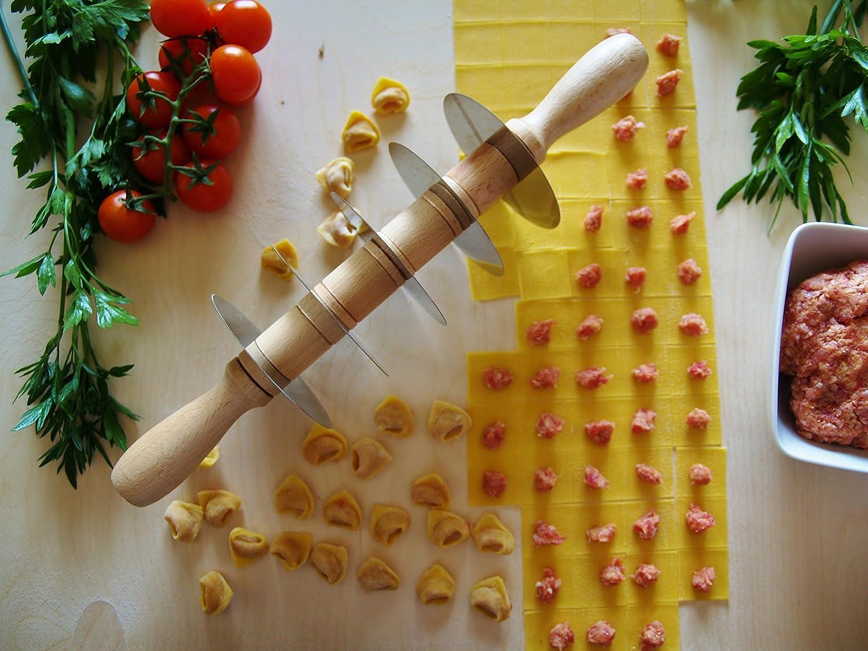 Teigschneider mit 5 glatten Edelstahlklingen 990001