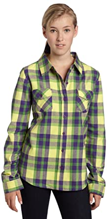 12e21d2a6 Rip Curl Juniors So Studly Flannel at Amazon Women's Clothing store: Button  Down Shirts