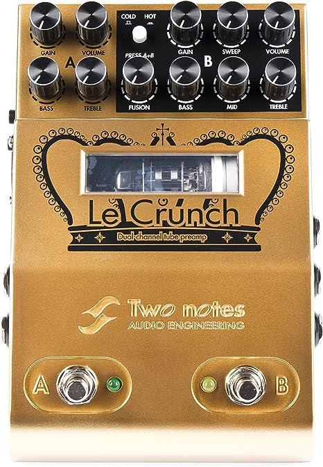 Two Notes Le Crunch Dual Channel Preamp · Pedal guitarra eléctrica ...