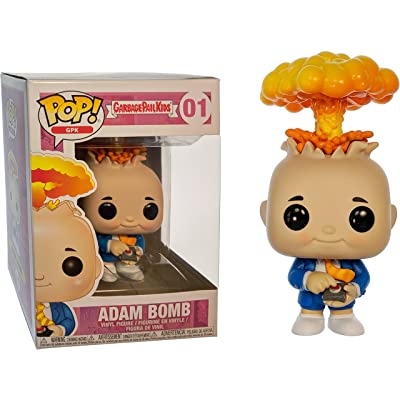 Funko Adam Bomb: Garbage Pail Kids x POP! GPK Vinyl Figure & 1 POP! Compatible PET Plastic Graphical Protector Bundle [#001 / 26003 - B]: Toys & Games
