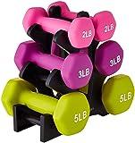 AmazonBasics 20 Pounds Neoprene Workout Dumbbell