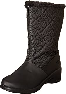Amazon.com | Totes Women's Cynthia Mid-Calf Synthetic Boot | Mid-Calf