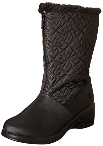 Totes Womens Snow boot black 10