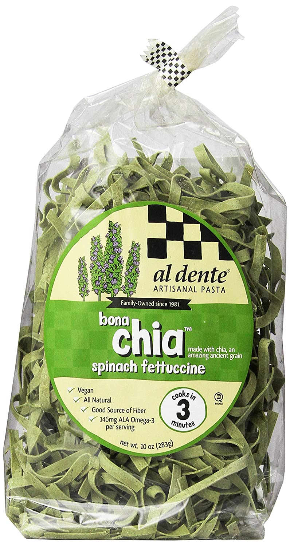 Amazon.com : Al Dente Bonachia Spinach Fettuccine, 10 Ounce : Grocery & Gourmet Food