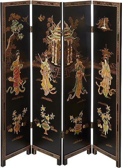 Amazon.com: Oriental Furniture 7 ft. Tall Dancing Ladies Screen