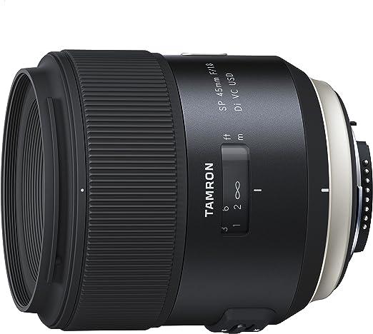 Tamron Sp45mm F 1 8 Di Usd Sony Objektiv Schwarz Kamera