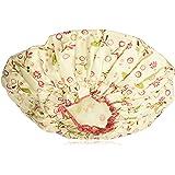 Bath Accessories Bouffant Shower Cap, Olive Vines Print
