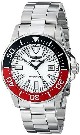Invicta 7044 - Reloj de Pulsera Hombre, Acero Inoxidable, Color: Amazon.es: Relojes