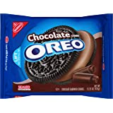 Oreo Chocolate Sandwich Cookies, Chocolate Creme, 15.25 Ounce (Pack of 12)