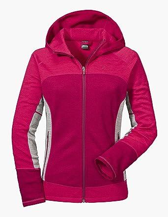 the cheapest classic style exquisite design Schöffel Fleece Hoody Trentino L Damen Kapuzenjacke, atmungsaktive  Sweatshirtjacke für Frauen, bequeme Strickjacke mit sportlichem Look
