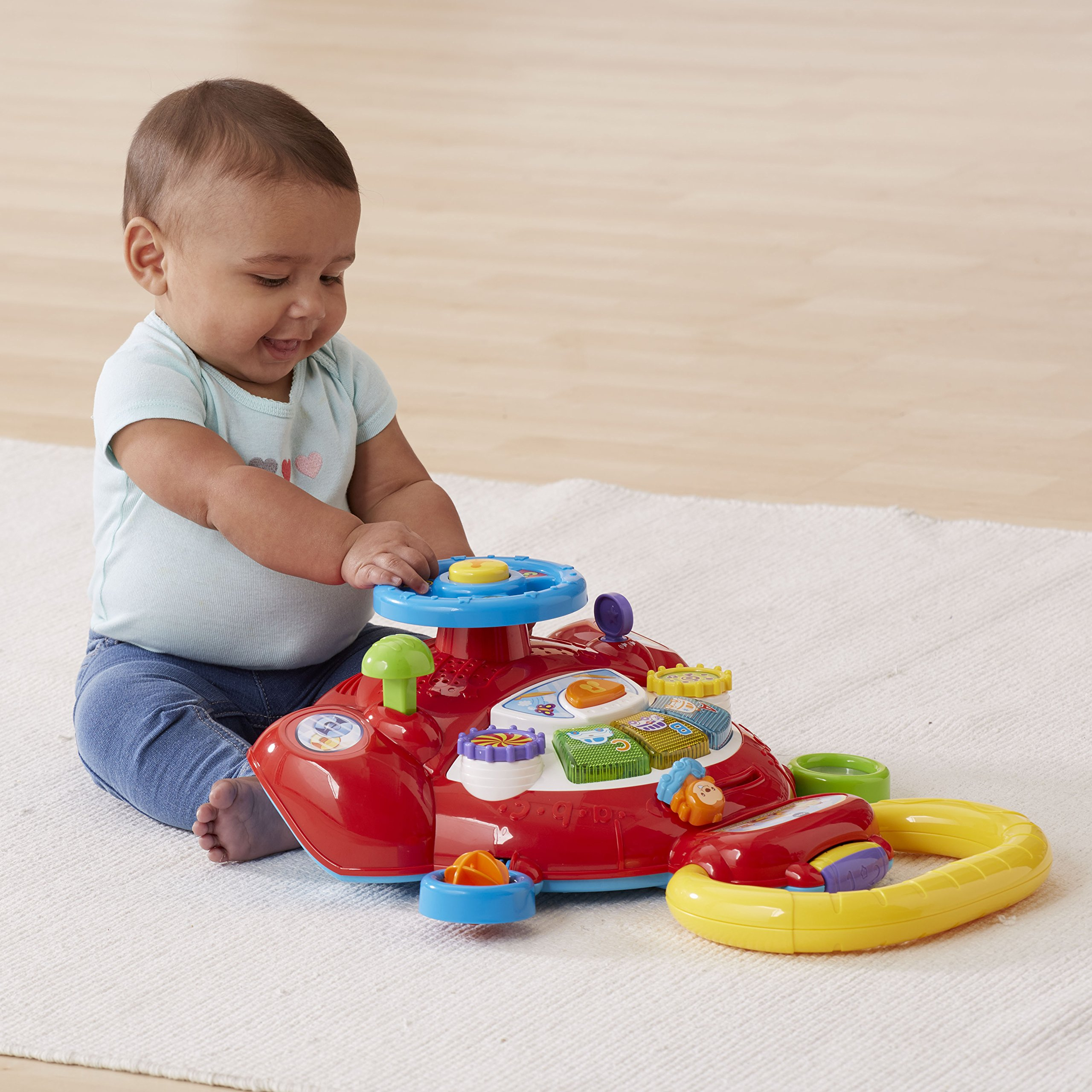 VTech Sit, Stand and Ride Baby Walker (Frustration Free Packaging) (Amazon Exclusive) by VTech (Image #6)