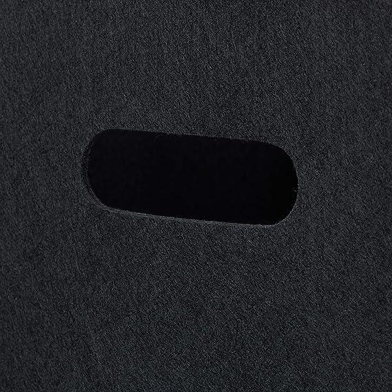 mit 2 Trage/öffnungen schicker Regalkorb faltbar H x B x T: 30 x 30 x 30 cm schwarz 1 x Quadratischer Filzkorb