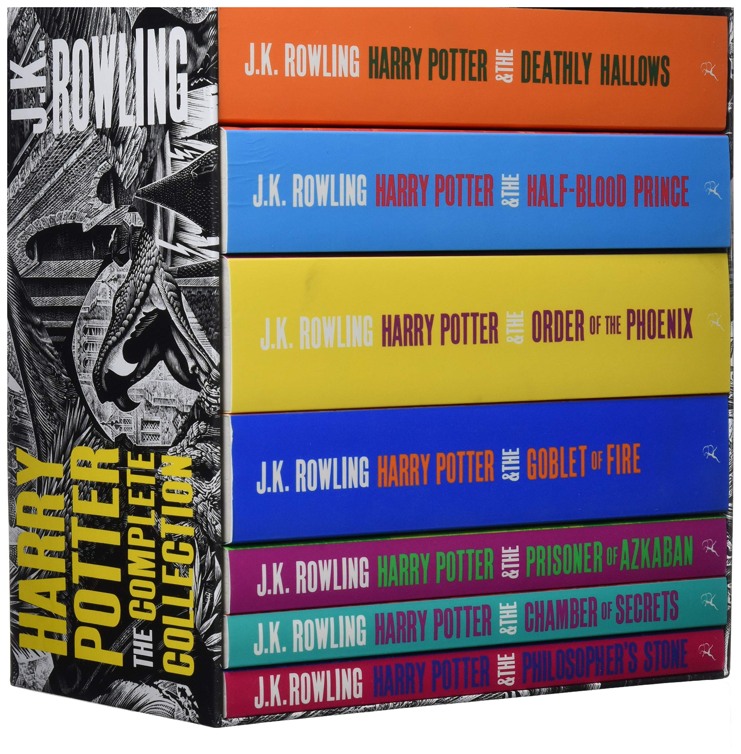 Harry Potter Boxed Set: The Complete Collection Adult Paperback ...