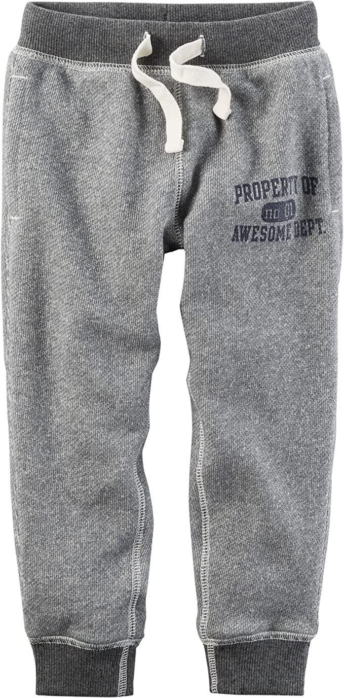 2er Simple Joys by Carters Baby-Jungen 2-Pack Athletic Knit Jogger Pants