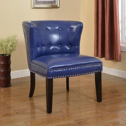 Image Unavailable & Amazon.com: Best Master Furniture Regal Tufted Faux Leather Accent ...