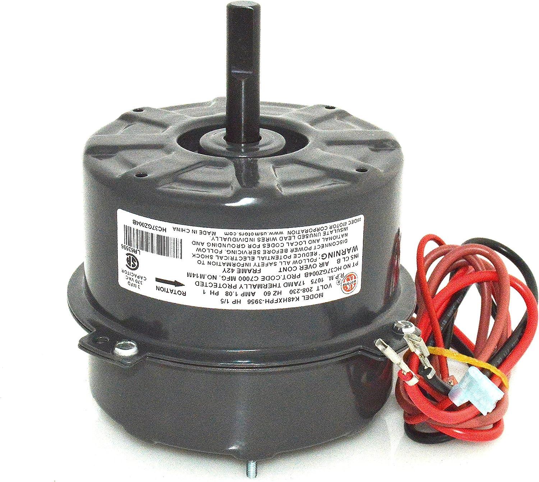 ICP Heil Tempstar 1/5 HP FAN MOTOR 1088235 HQ1088235EM