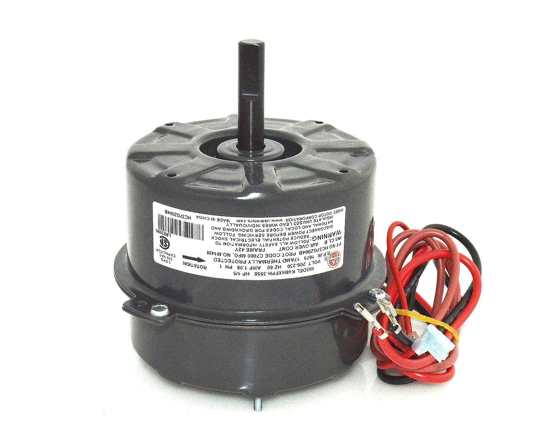 1088235 Oem Upgraded Tempstar 1 5 Hp 230v Condenser Fan Motor Wiring Diagram