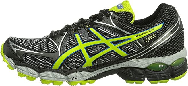 Asics Gel Pulse 6 G-TX - Zapatillas de Running para Hombre, Color Silv/Lime/Blk, Talla 40: Amazon.es: Zapatos y complementos