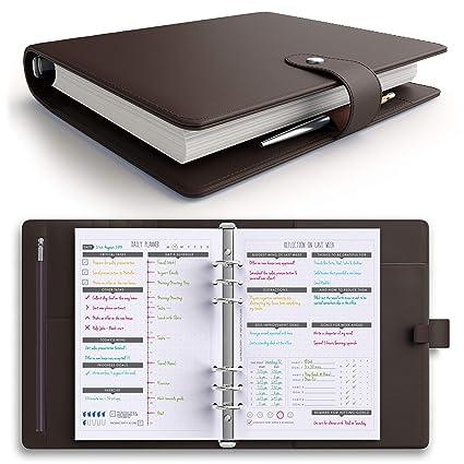 LUX PRO Planificador de productividad - mejor agenda A5 sin ...