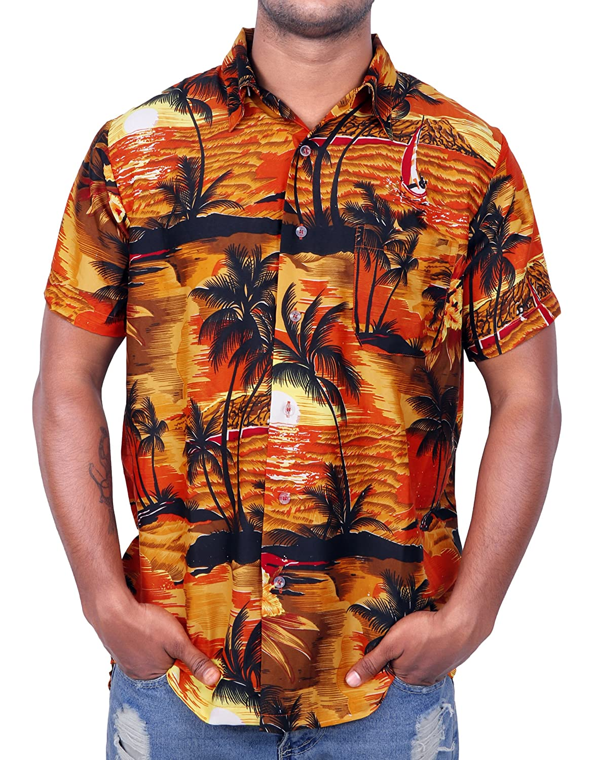 Virgin Crafts Men's Hawaiian Shirt
