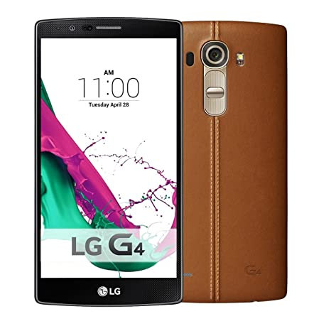 LG G4 H815 32GB Factory Unlocked GSM Hexa-Core Android 5 1 Smartphone -  Brown Leather