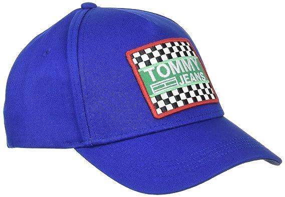 Mens TJM Big Logo Patch Baseball Cap Tommy Jeans MkgYUUZX