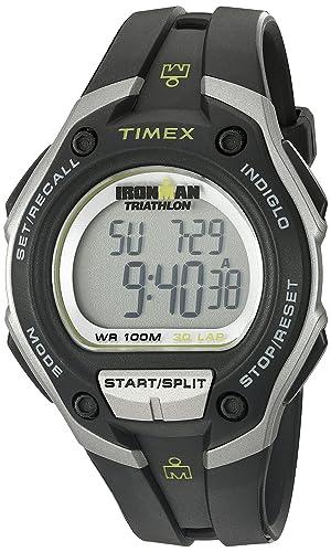 690365826199 Timex T5K412 - Reloj digital con correa de resina para hombre