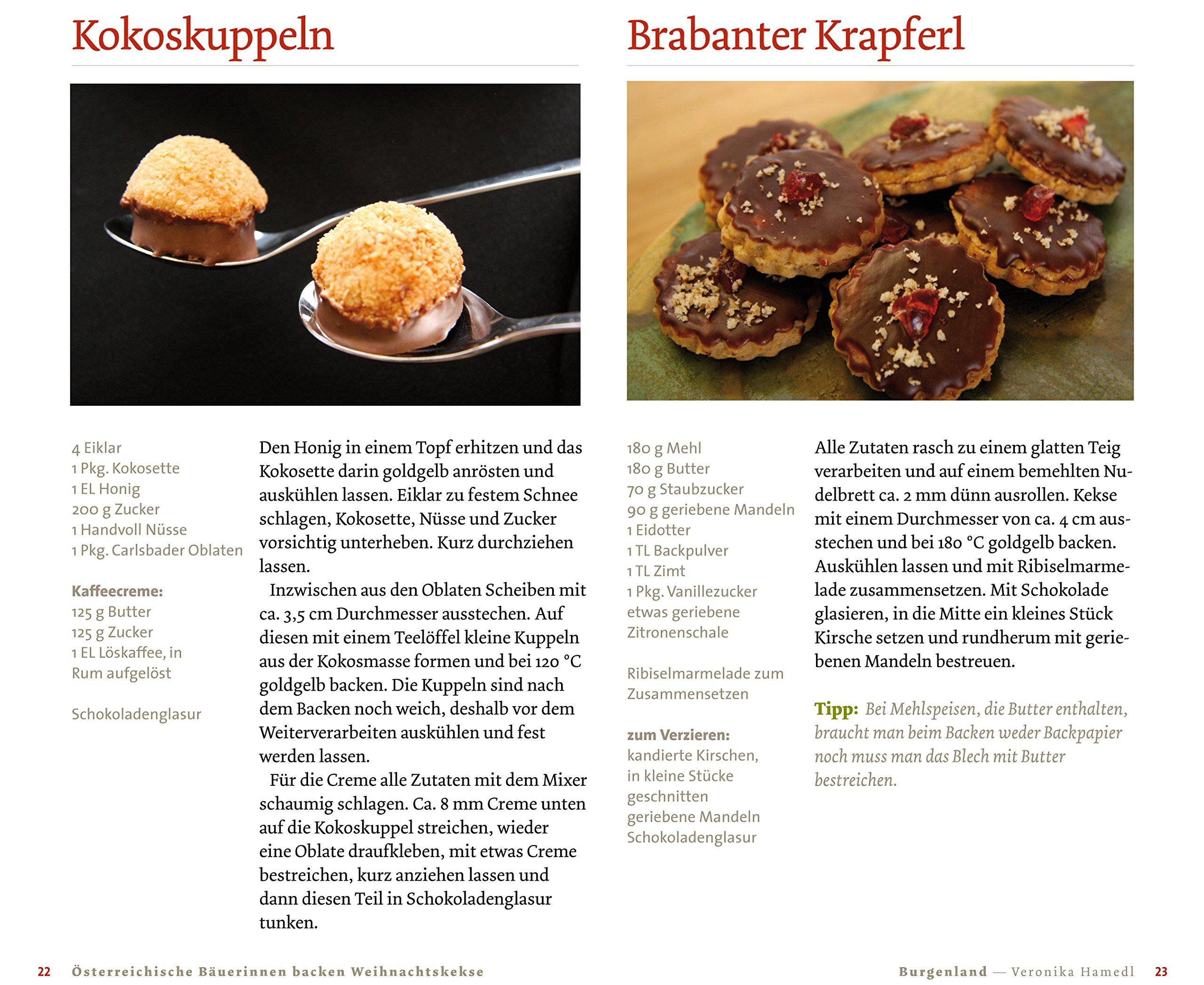 Weihnachtskekse Rezepte Mit Bild österreich.österreichische Bäuerinnen Backen Weihnachtskekse Die Besten