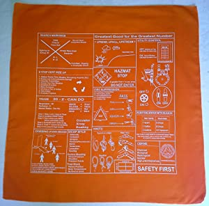CERT Prompt Bandana (Orange)