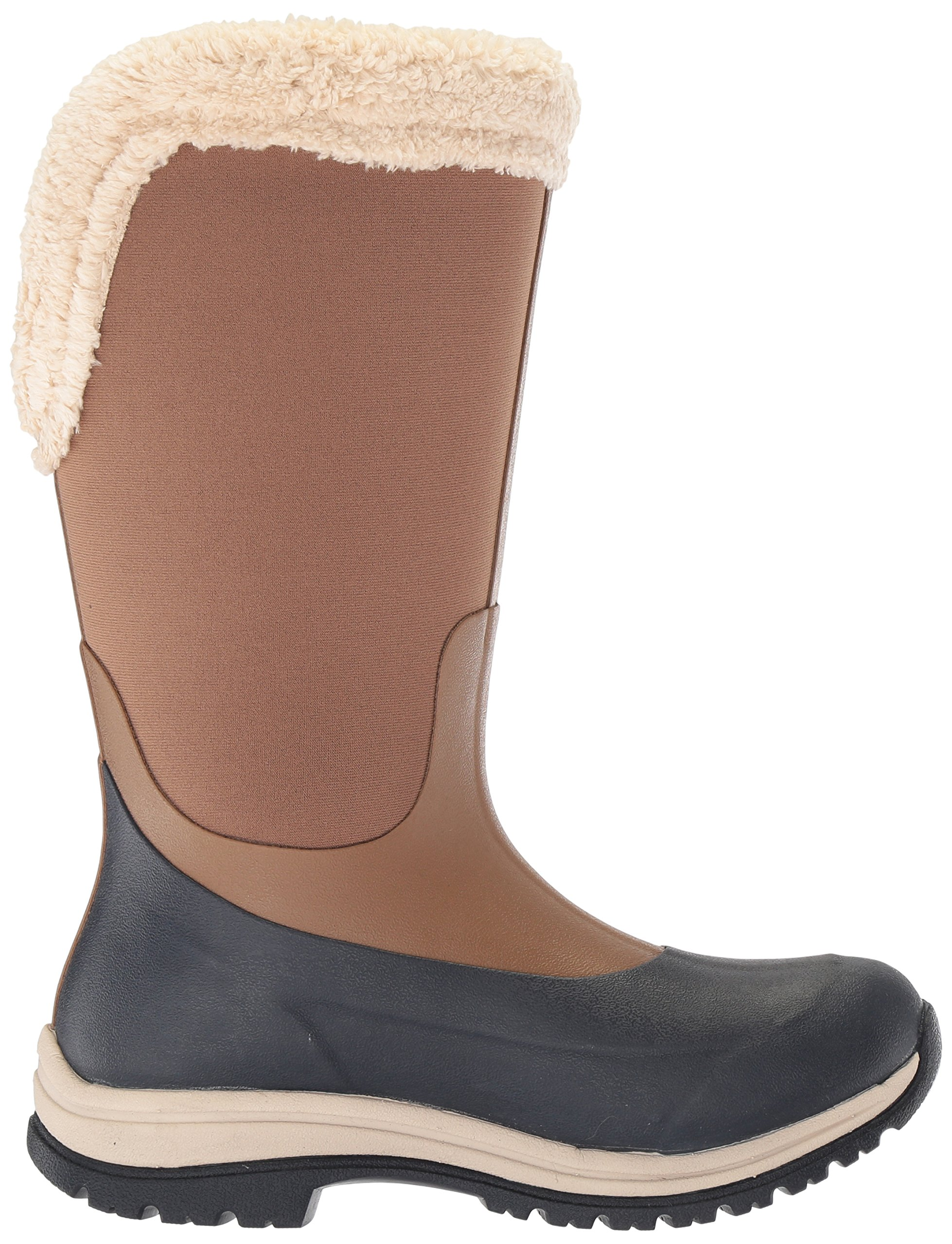 Muck Boot Women's Apres Tall (15'') Work Boot, Otter/Total Eclipse, 8 M US by Muck Boot (Image #6)