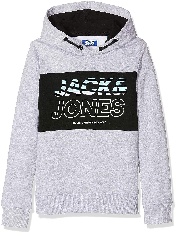 Jack /& Jones Junior Jcojonah Sweat Hood Noos Jr Short Gar/çon