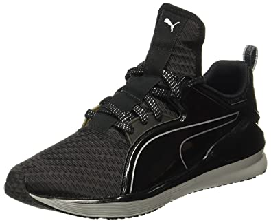 84a1cdab22b0 Puma Women s Fierce Low Metallic WNS Black and Silver Multisport Training  Shoes - 7 UK