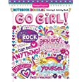 Notebook Doodles Go Girl!: Coloring & Activity Book (Design Originals) 30 Inspiring Designs; Beginner-Friendly Empowering Art