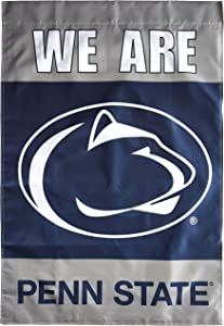 NCAA Penn State Nittany Lions We are Penn State 2-Sided Banner with Pole Sleeve, 28 x 40-Inch